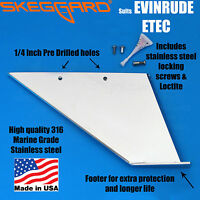 "JOHNSON/EVINRUDE 150-200HP ETEC (25""& 30"" Shaft) Skeg Guard, Skeg Protector"