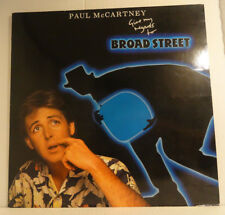 "PAUL McCARTNEY -Beatles - Give me regards to BROAD STREET >12""Vinyl LP , FoC-OIS"