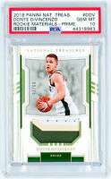 DONTE DIVINCENZO 2018 Panini National Treasures ROOKIE /25 JERSEY #9 PSA 10 RC