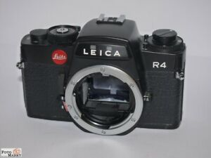 Leica R4 Negro Carcasa Cámara Reflex SLR Body Black