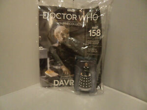 DOCTOR WHO FIGURINE COLLECTION ISSUE 158 DAVROS NEW IN BAG