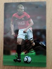 Ritchie De Laet Man Utd Genuine Hand Signed 6x4  photo Autograph  3 for 2