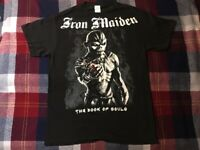 Iron Maiden tour t shirt 2017 book of souls vintage rare