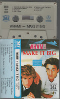 Wham Make It Big cassette K7 tape Label 747 George Michael