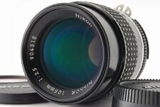 [Exc+++++] Nikon Ai-s NIKKOR 105mm f/2.5 AIS MF Lens w/filter From Japan #233A