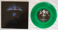 "SLAYER-WHEN THE STILLNESS COMES-2015 GREEN VINYL 7""-LTD TO 300 ONLY-NEW"