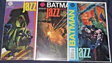 BATMAN LEGENDS OF THE DARK KNIGHT : JAZZ #1-3 NM- Full Set! 1995 DC Bruce Wayne!