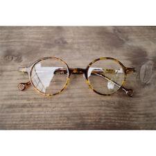 1920s Vintage oliver retro eyeglasses 15R51 Leopar frames Round eyewear rubyruby