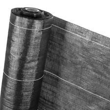 Unkrautfolie Bändchengewebe Pflanzenschutz Unkraut Folie HaGa® 1,1m (Meterware)