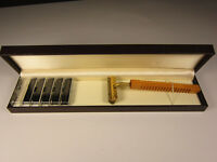 Rasierer System G2 GII Gillette inkl. 6 Klingen in Geschenkbox