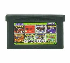 24 in 1 Game Boy Advance Cartridge Multicart for GBA NDS GBA SP GBM NDSL NDS