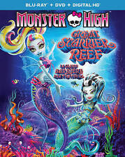Monster High: Great Scarrier Reef (Blu-ray/DVD, 2016, 2-Disc Set, Canadian)