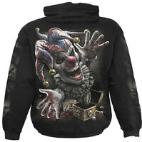 Spiral Direct JACK IN THE BOX Hoodie Gothic/Clown/Evil/Music/Rock/Pullover/Hood