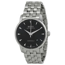 Mido Baroncelli Automatic Black Dial Stainless Steel Mens Watch M86004181-AU