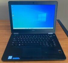 New ListingDell Latitude E7270 Ultrabook Core i7-6600U 8Gb New 256Gb Ssd WiFi Webcam Win10P