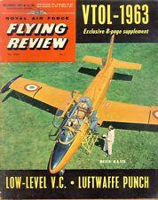 RAF FLYING REVIEW DEC 62 A-1 SKYRAIDER_MACCHI MB.326_VTOL_NEW LUFTWAFFE_P-47D VI