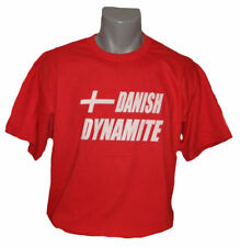 Dänemark T-Shirt Danish Dynamite Alt. zu Trikot NEU Fussball Handball S M L XL