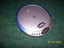 Durabrand Discman CD-566 Audio Portable Blue Silver CD Player - Works Great