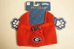 Mesh Pet Gear - Georgia Bulldogs - Made by Hunter - Size Large