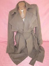Banana Republic Women's Trench Coat Raincoat Double Breasted Taupe Beige