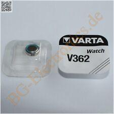 5 x V362 Batteries for Watches Varta  5pcs
