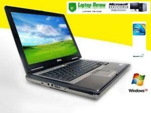 Lot of 5 Dell Latitude Core2 Duo 2GB 80gb Windows XP SP3 RS232 9 PIN Serial Port