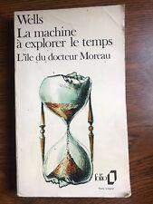 Wells: La machine à explorer le temps. L'ile du docteur Moreau / 1959