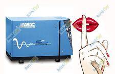 COMPRESSORE SILENZIATO A CINGHIA ABAC B6000 LN T7,5 SU BASE 7,5 HP 5,5 Kw