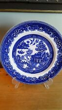 Vintage Alfred Meakin Old Willow Plate, 24.5cm, Good Condition