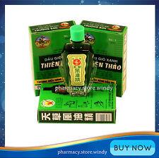 3 x 12ml Thien Thao Medicated Oil - Dau Gio Xanh!!!