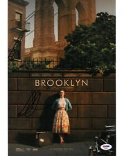Saoirse Ronan Signed Brooklyn Authentic Autographed 11x14 Photo PSA/DNA #AD65879