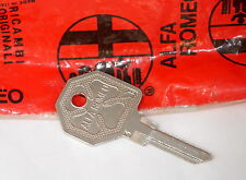 ALFA ROMEO Key BLANK #3 Ignition for GTV6/SPIDER OEM  1981 to 1994 ( doors ? )