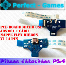 Connecteur micro USB de charge manette SONY PS4 V1 14 pin + nappe V1 14 pin