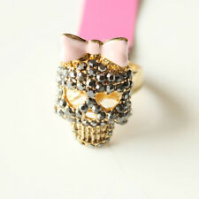 New Betsey Johnson Skull  Ring Best Gift Fashion Women Party Holiday Jewelry #7