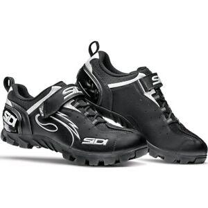 New Sidi Epic Men's MTB Bicycle Cycling Shoe Size 45 / 10.5 Black