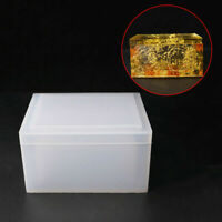 Silikonform Kristall Box Gießform Mould Schmuck Harzform Epoxy Form DIY Mold
