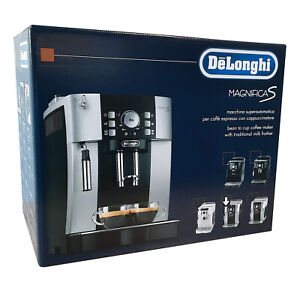 DeLonghi ECAM 21.116.SB Magnifica S Kaffeevollautomat, silber schwarz