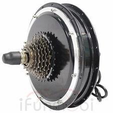 36V/48V 1000W Threaded Brushless Gearless Hub Motor Rear Wheel Motor For E-Bike