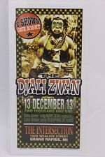 DJALI ZWAN THE INTERSECTION 2003 MARK ARMINSKI HANDBILL FLYER