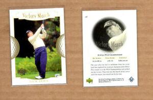 """2001 Upper Deck #156 Nick Price VM GOLF """"ERROR CARD"""""""