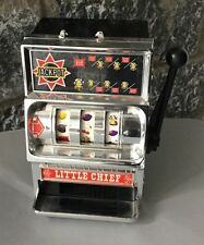 VINTAGE 80s# MADE IN JAPAN SLOT MACHINE WACO PLASTIC E TINY