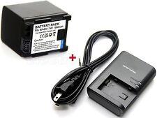1800mAh Battery & Charger for BP-819 Canon LEGRIA HF S21 HF S30 HF S100 HF S200