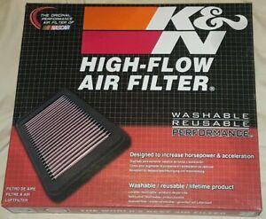 K&N Filters 33-2448  Air Filter  Fits Many Hyundai / Kia Vehicles  Ships Free