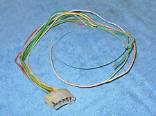 1969 Cougar Hardtop Convertible XR7 Eliminator TURN SIGNAL SWITCH WIRING PLUG