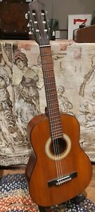 Vintage Tartra Romanian classical guitar beautiful look with new strings late 60