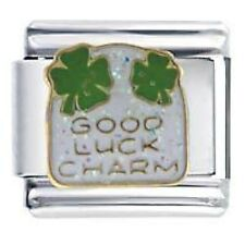 GOOD LUCK CHARM - Daisy Charms by JSC Fits Classic Size Italian Charm Bracelet