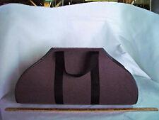 The BEST wood tote bag in plum