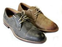 NEW *FERRO ALDO* MENS LACE UP OXFORDS CAP TOE LEATHER LINED COMFORT DRESS SHOES