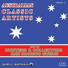 HUNTERS AND HOODOO GURUS HITS AUSSIE SUNFLY KARAOKE CD+G