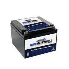 12V 28AH 336W Sealed Lead Acid (SLA) Battery - T3 Terminals by Zipp Battery